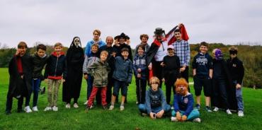 Compétition Halloween de nos juniors
