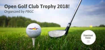 Open Golf Club Trophy 2018 – 1ère manche ce 14 avril !
