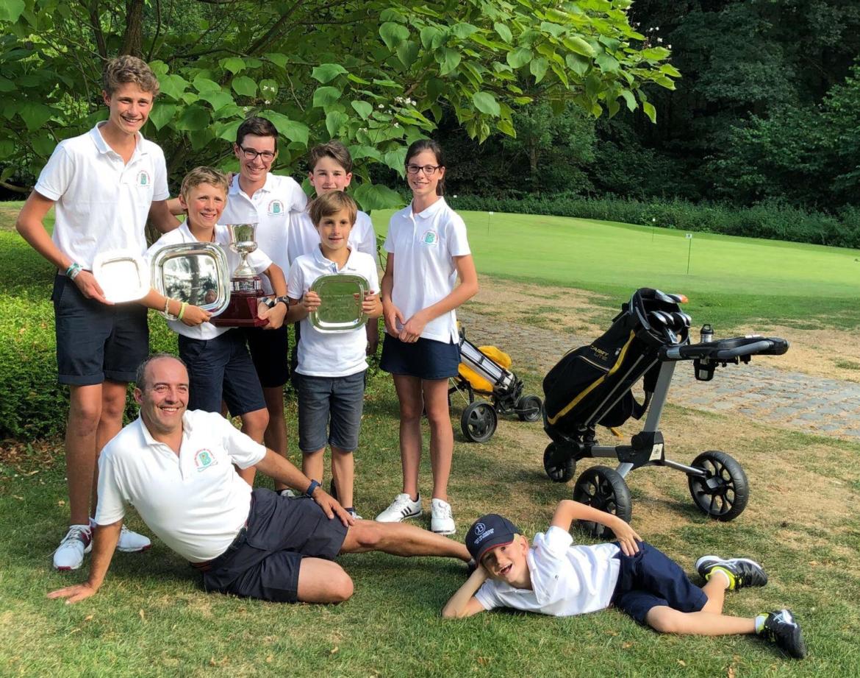 1ère place – Open Juniors Trophy de LLN !
