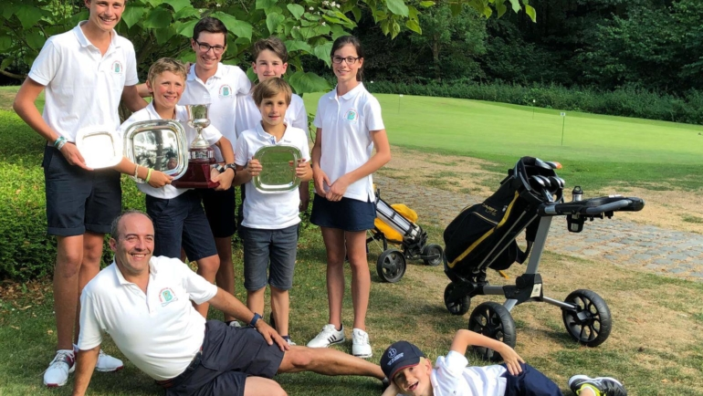 1ère place – Open Juniors Trophy de LLN !
