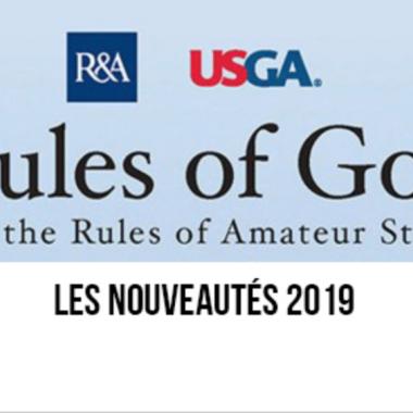 Nouvelles règles de golf en 2019